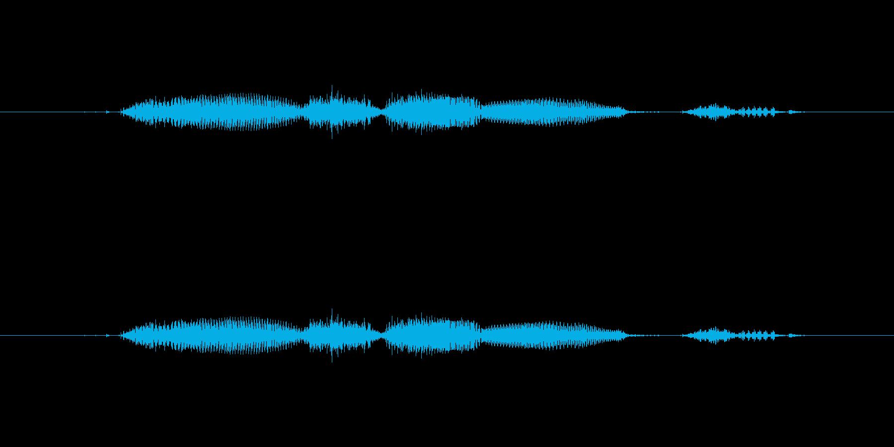 【日】13日の再生済みの波形