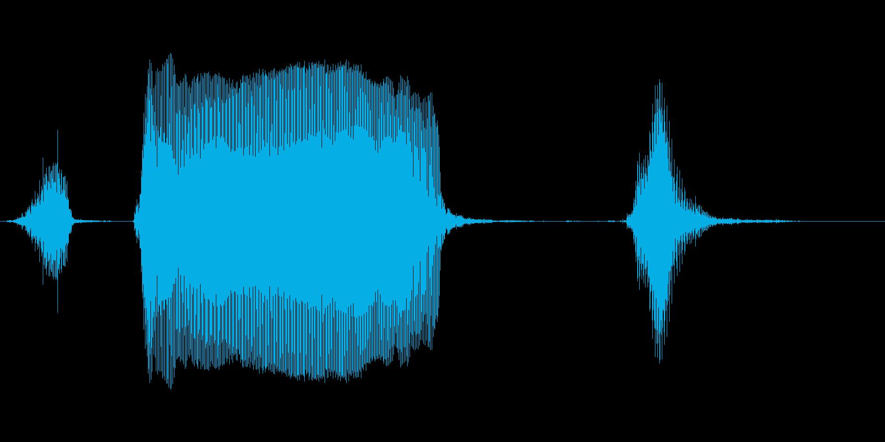 ストーップ!の再生済みの波形