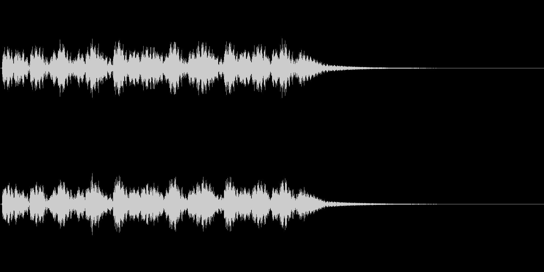ドンドンパフパフの未再生の波形