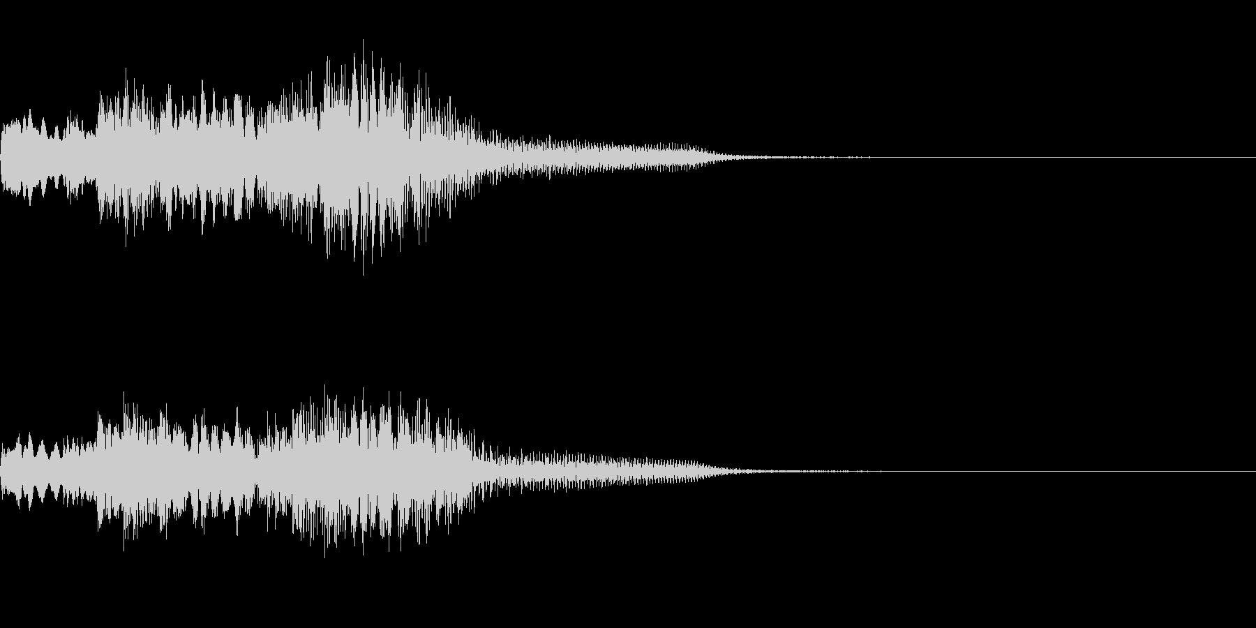 FX・SE/ピアノ/低音へ/ちゃらららんの未再生の波形