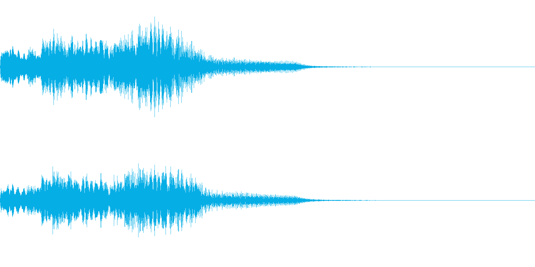FX・SE/ピアノ/低音へ/ちゃらららんの再生済みの波形