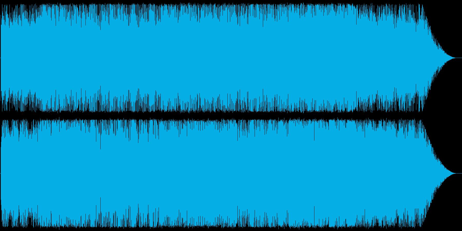 Chill/Healing系シリーズ曲8の再生済みの波形