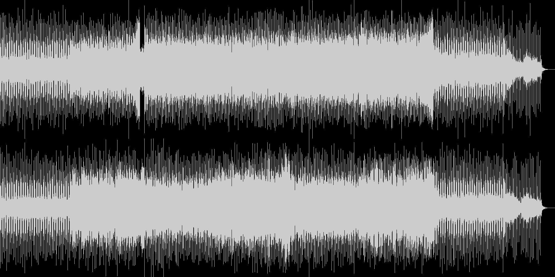 明るく優しいベル音が印象的なポップス曲の未再生の波形