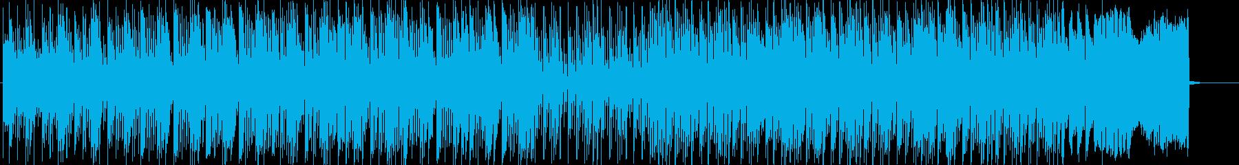 クイズの回答中Thinking timeの再生済みの波形