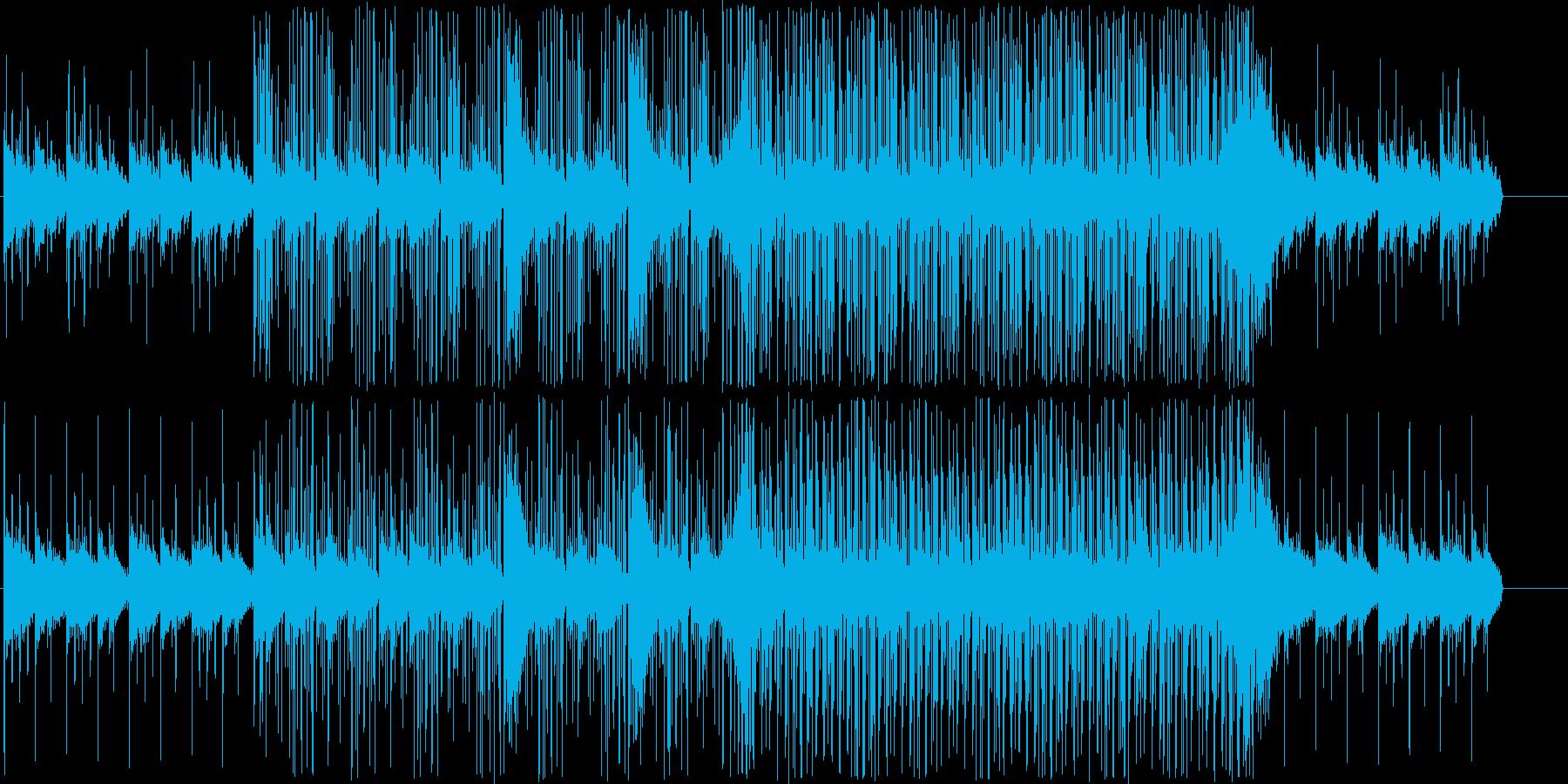 エレクトロニカ風の曲です何かを考えたり…の再生済みの波形