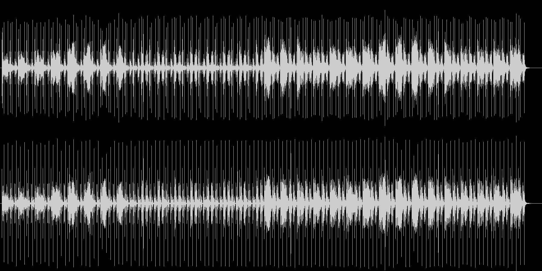 ドキドキ感とミステリアスなシンセテクノの未再生の波形