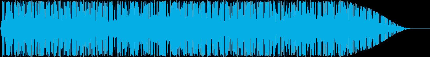 8bitチックな可愛いスマホゲームなどにの再生済みの波形