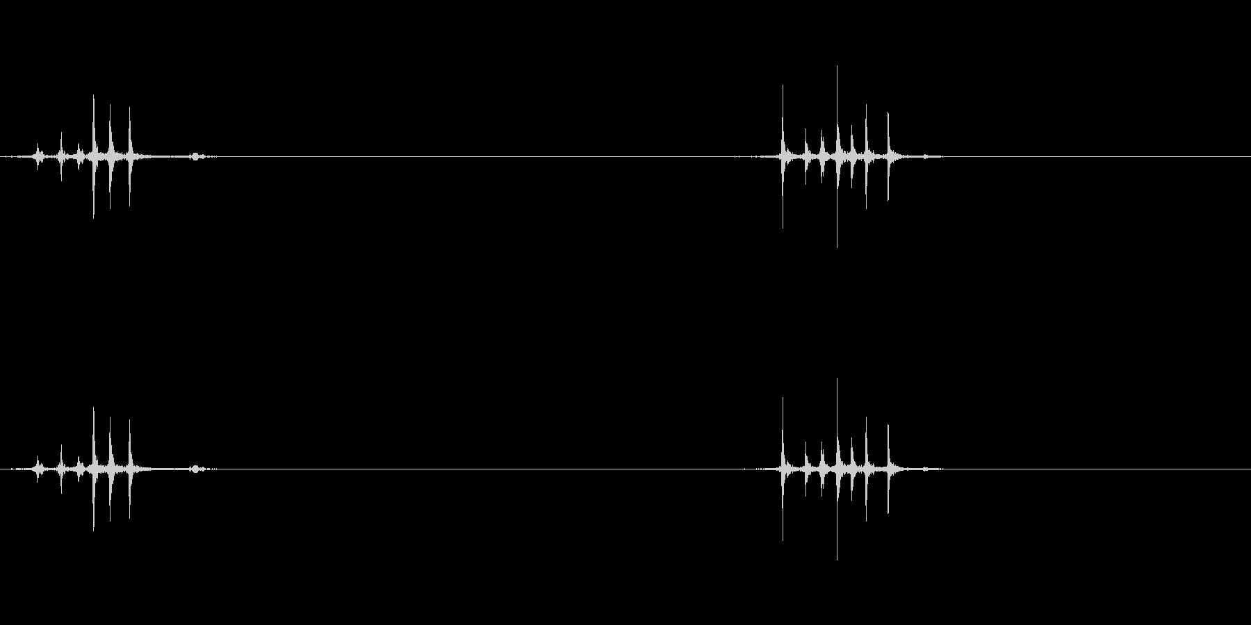 マウスのホイール3の未再生の波形