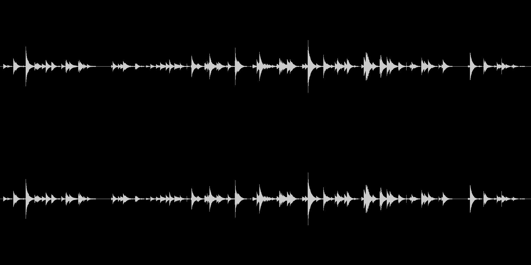 南部鉄器風鈴を1分強録音しました。サイ…の未再生の波形