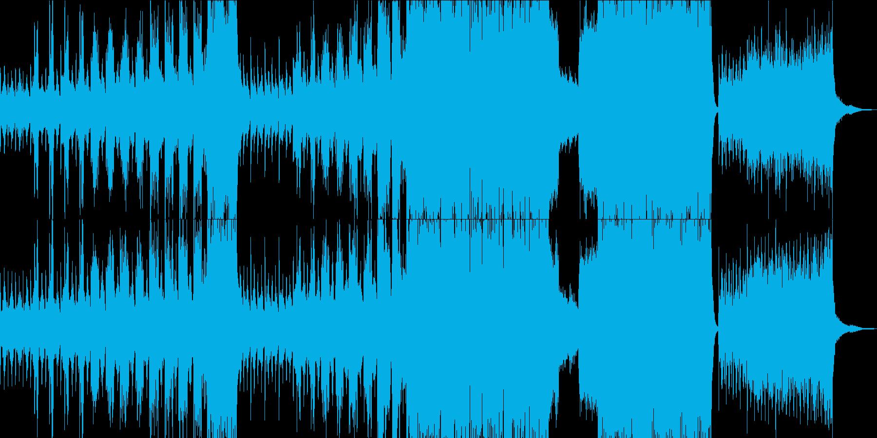 得体の知れない恐怖のクラシカルの再生済みの波形