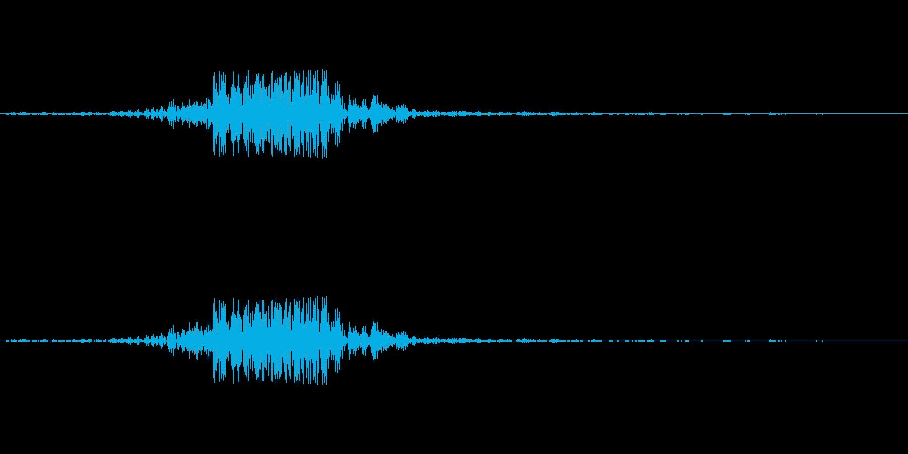 映画の効果音 その3の再生済みの波形