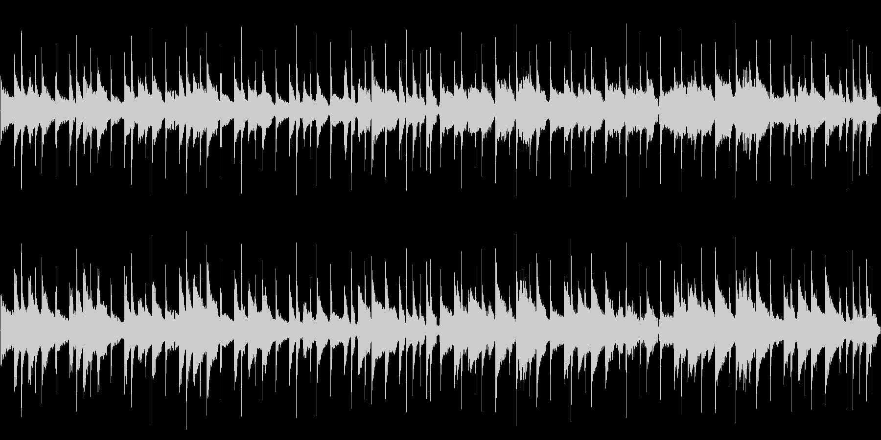 【29秒ループ】軽快なウクレレポップス!の未再生の波形