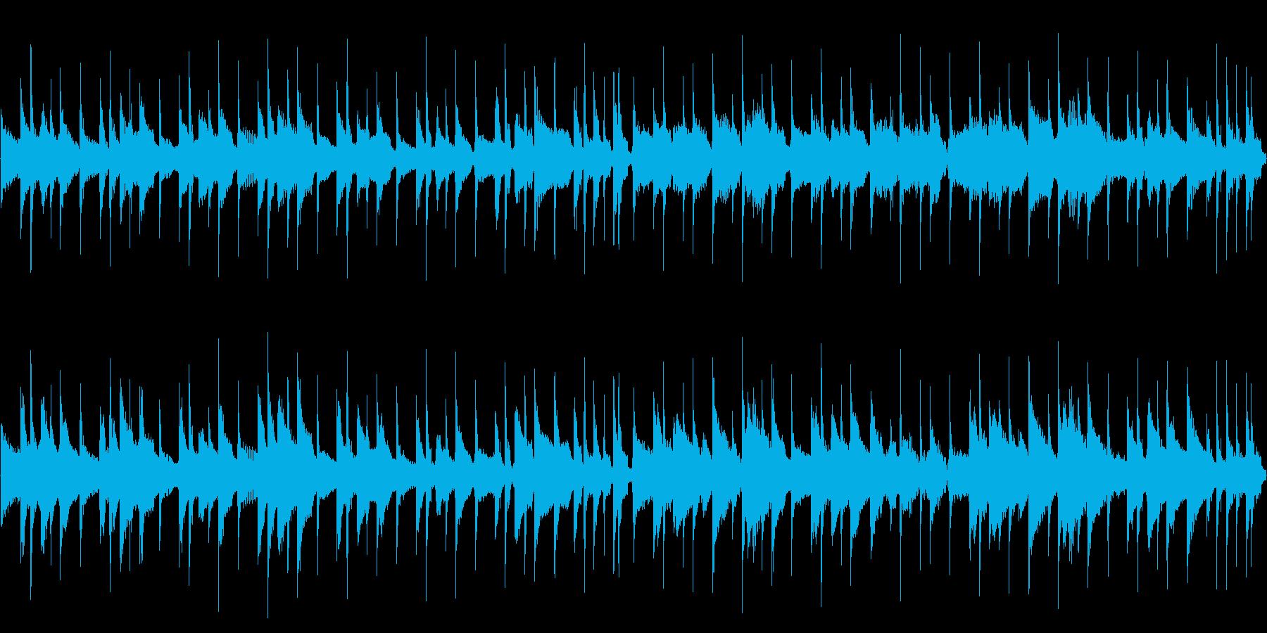 【29秒ループ】軽快なウクレレポップス!の再生済みの波形