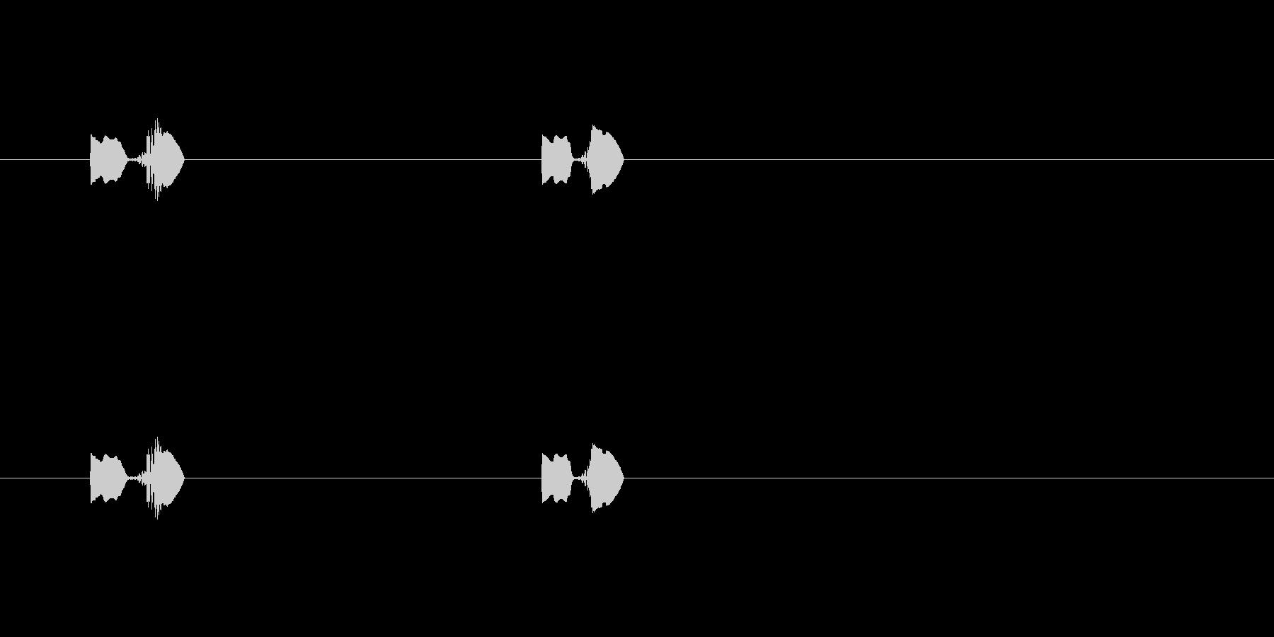 【ポップモーション32-3】の未再生の波形