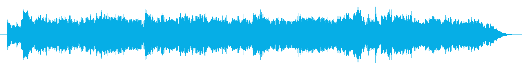 オーボエの切ないSoloの再生済みの波形