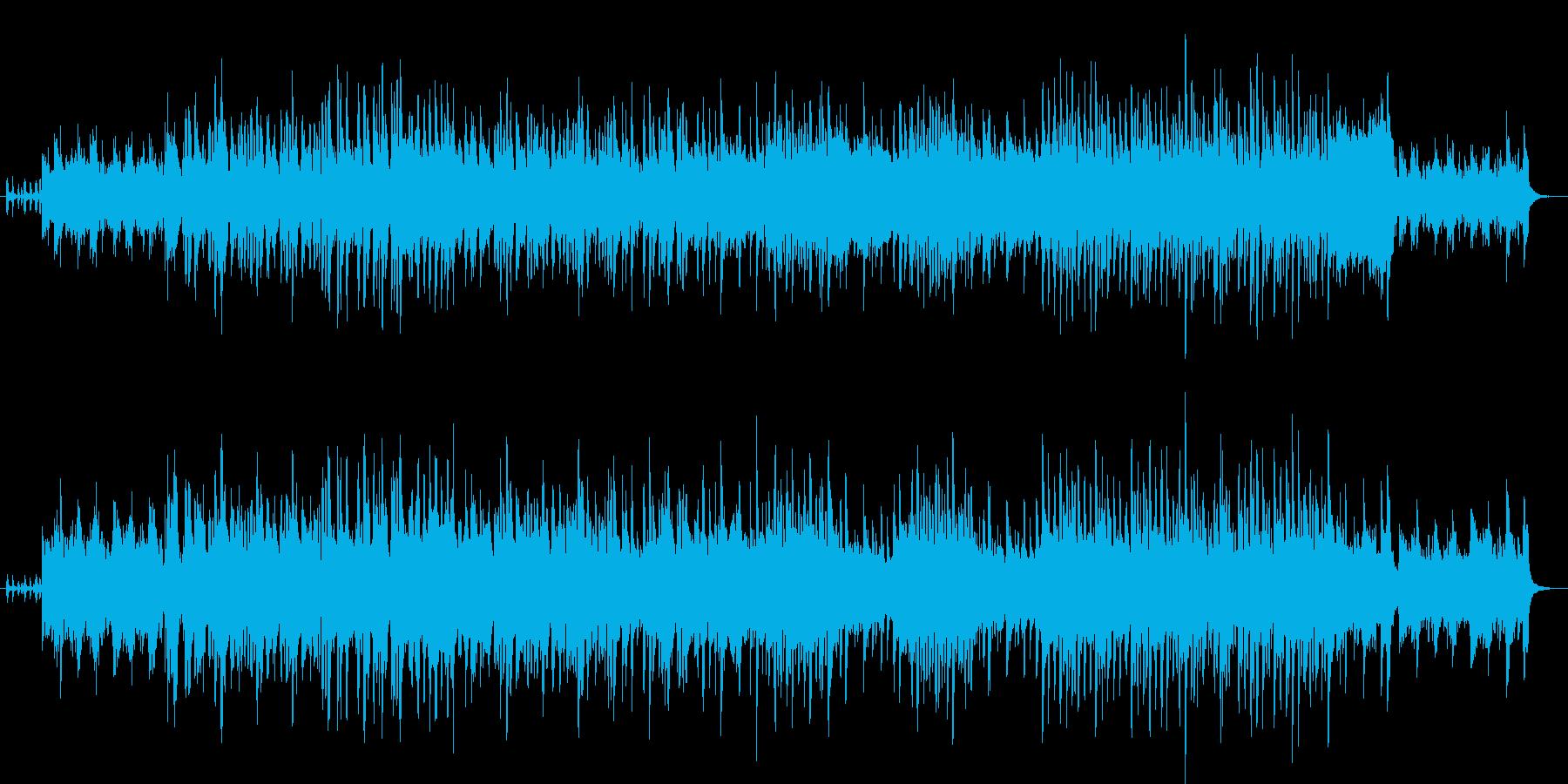 スペインのフラメンコ用テンポ240の曲の再生済みの波形