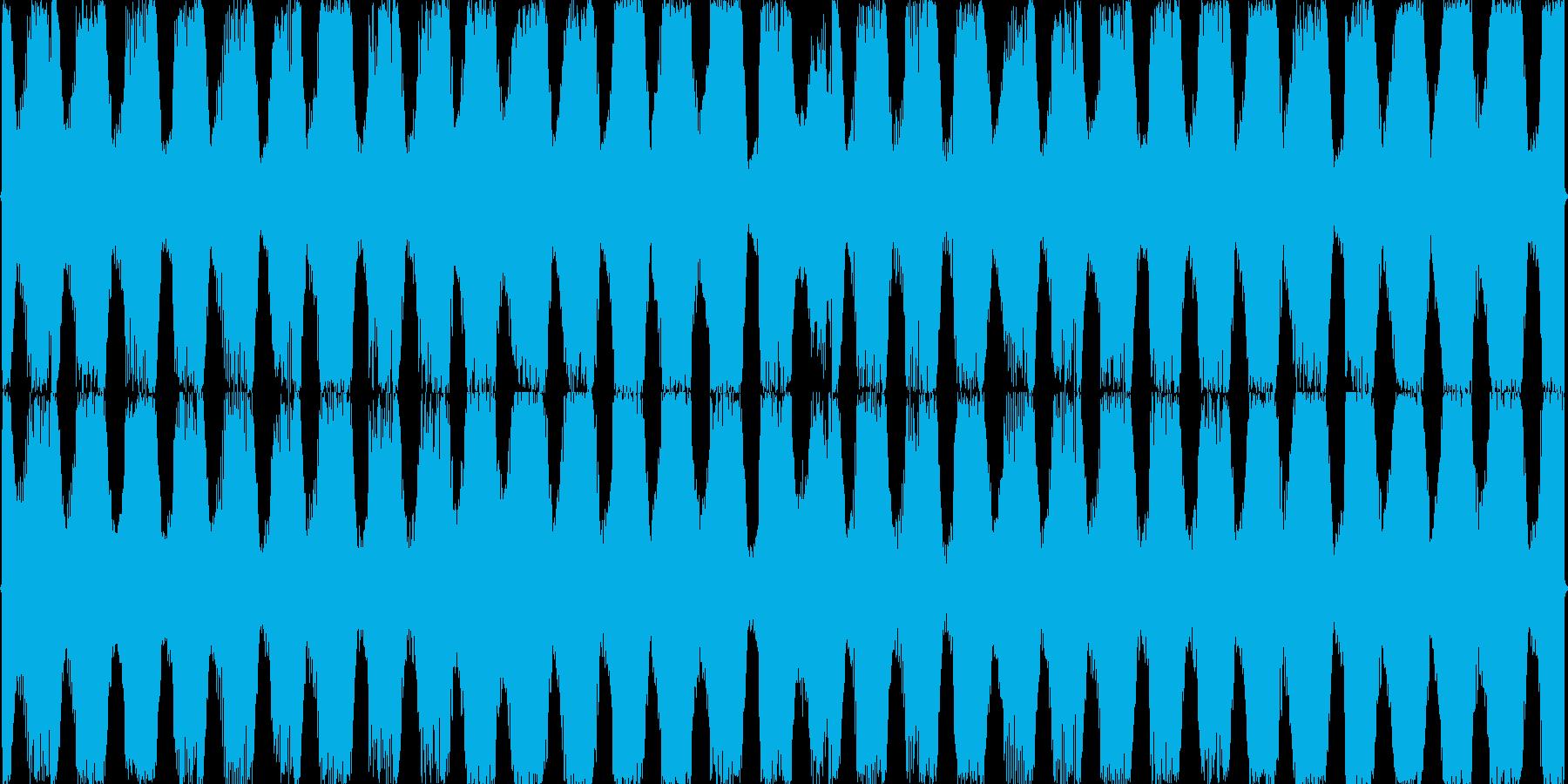 エレクトロニック、EDM、四つ打ちの再生済みの波形