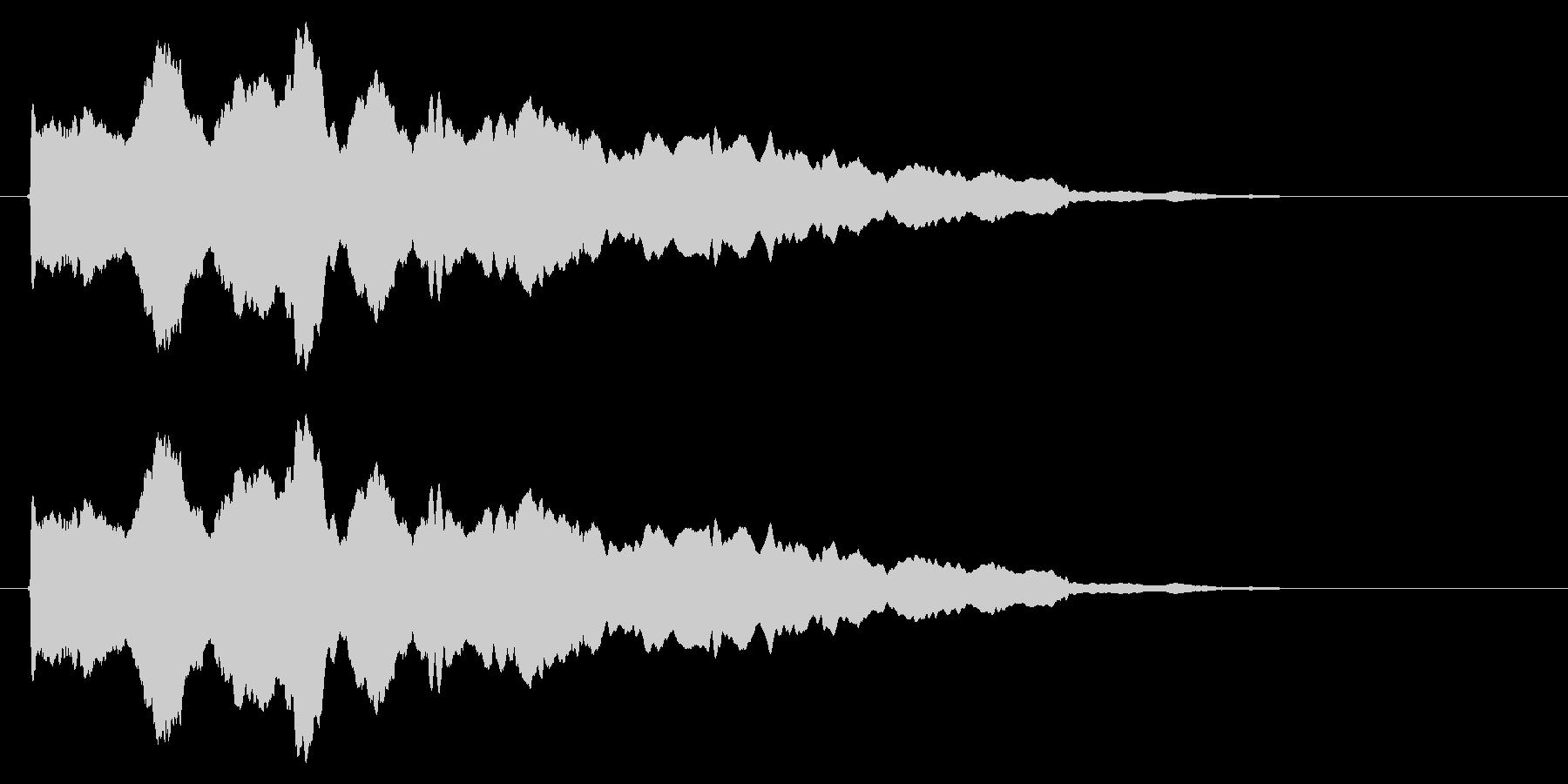 スライド笛/風船/しぼむ/カートゥーンの未再生の波形