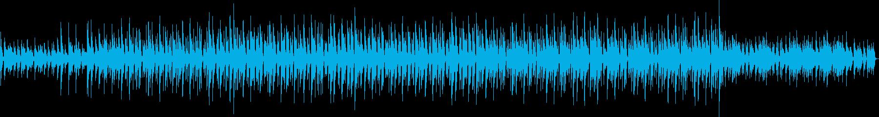 ボサノバ 風ギターとシンセリード&三味線の再生済みの波形