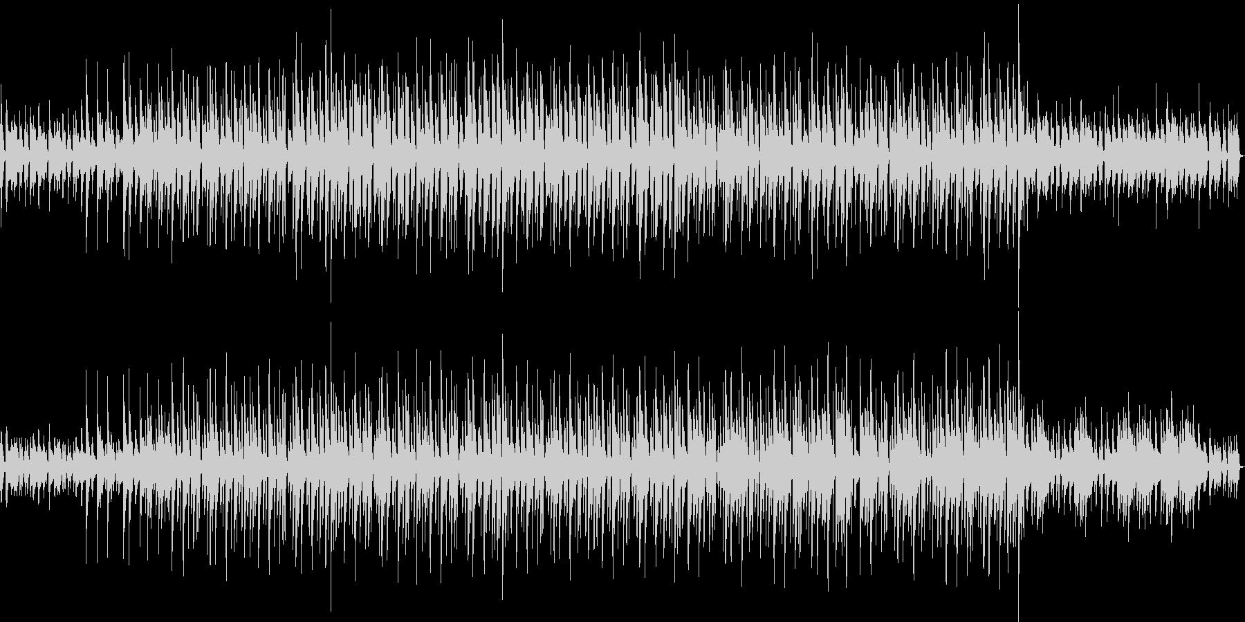 ボサノバ 風ギターとシンセリード&三味線の未再生の波形