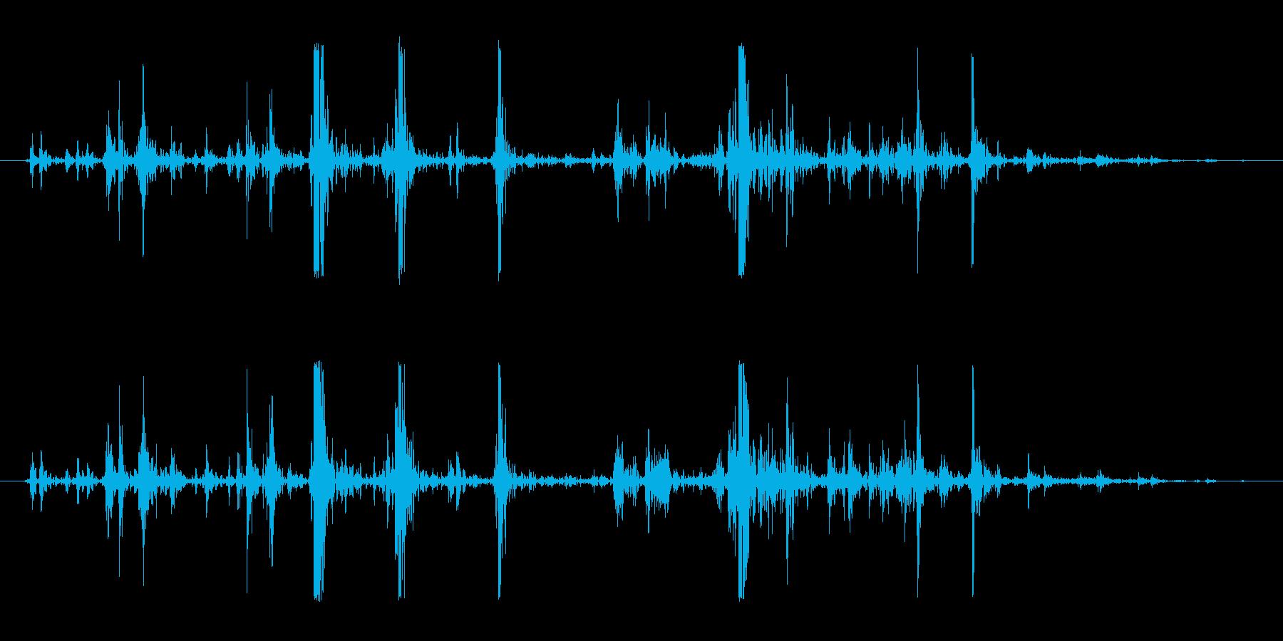 ホラー・スプラッター・骨折4の再生済みの波形
