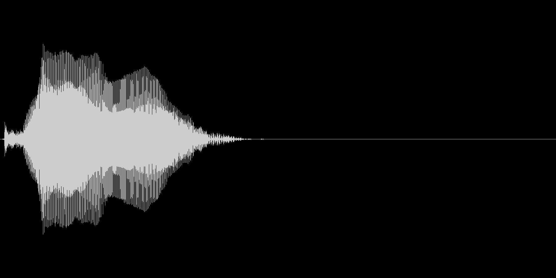 Tの未再生の波形