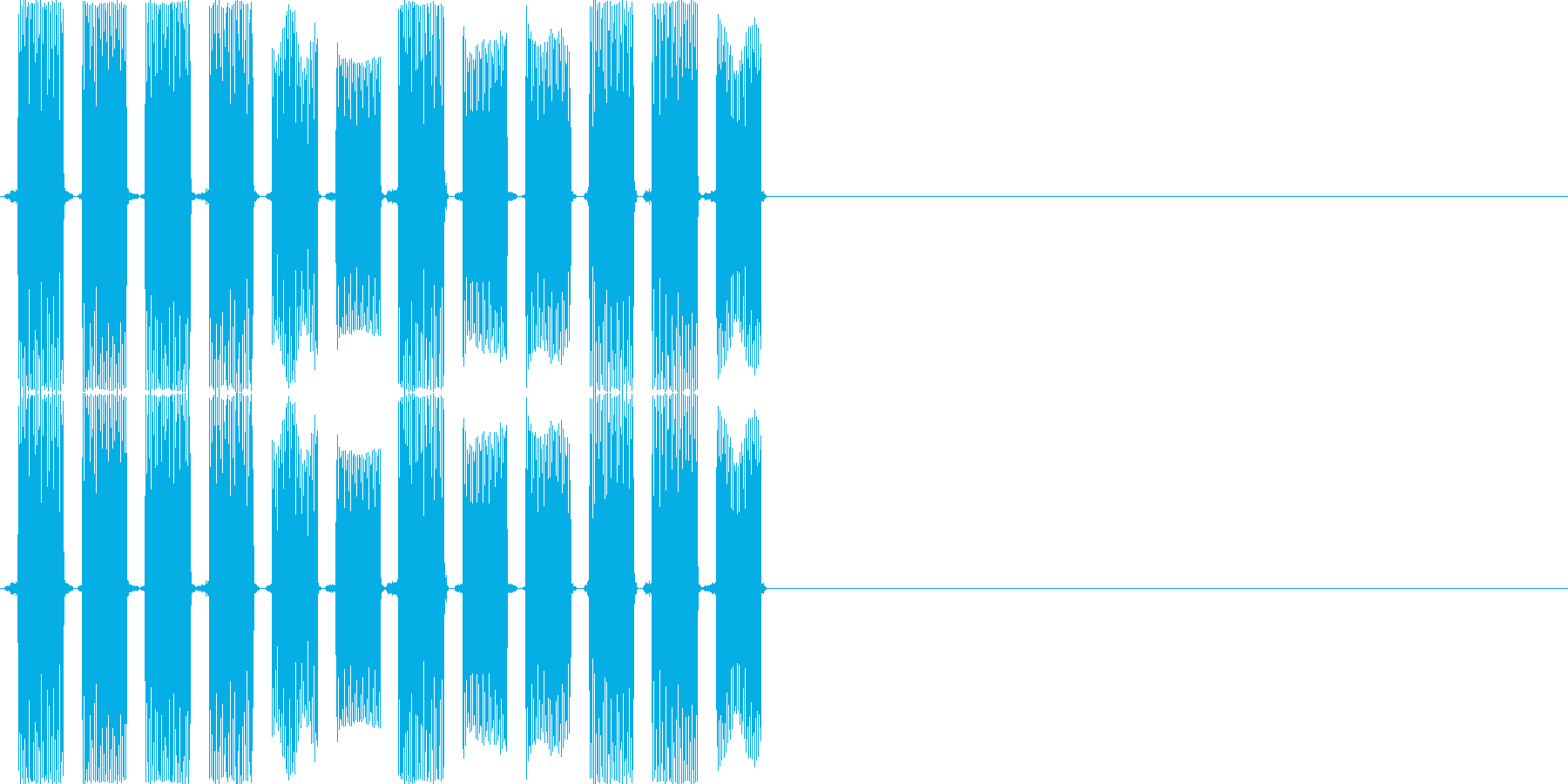 ピロリロピロリロ(PC、ロボット)の再生済みの波形