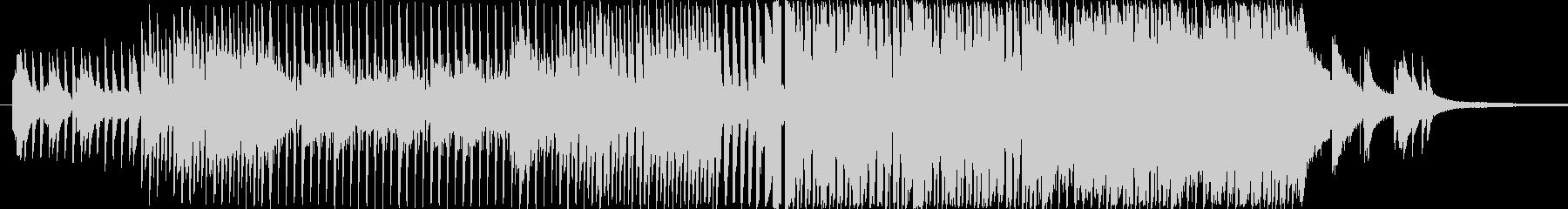 前向きで明るめのピアノインスト映像用の未再生の波形