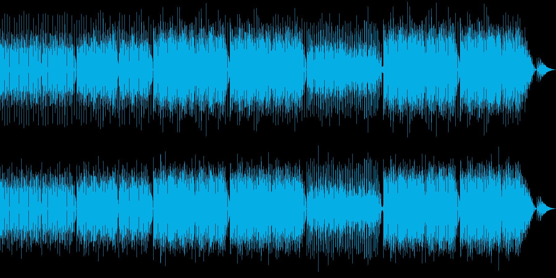 夏の終わりをイメージしたEDMの再生済みの波形