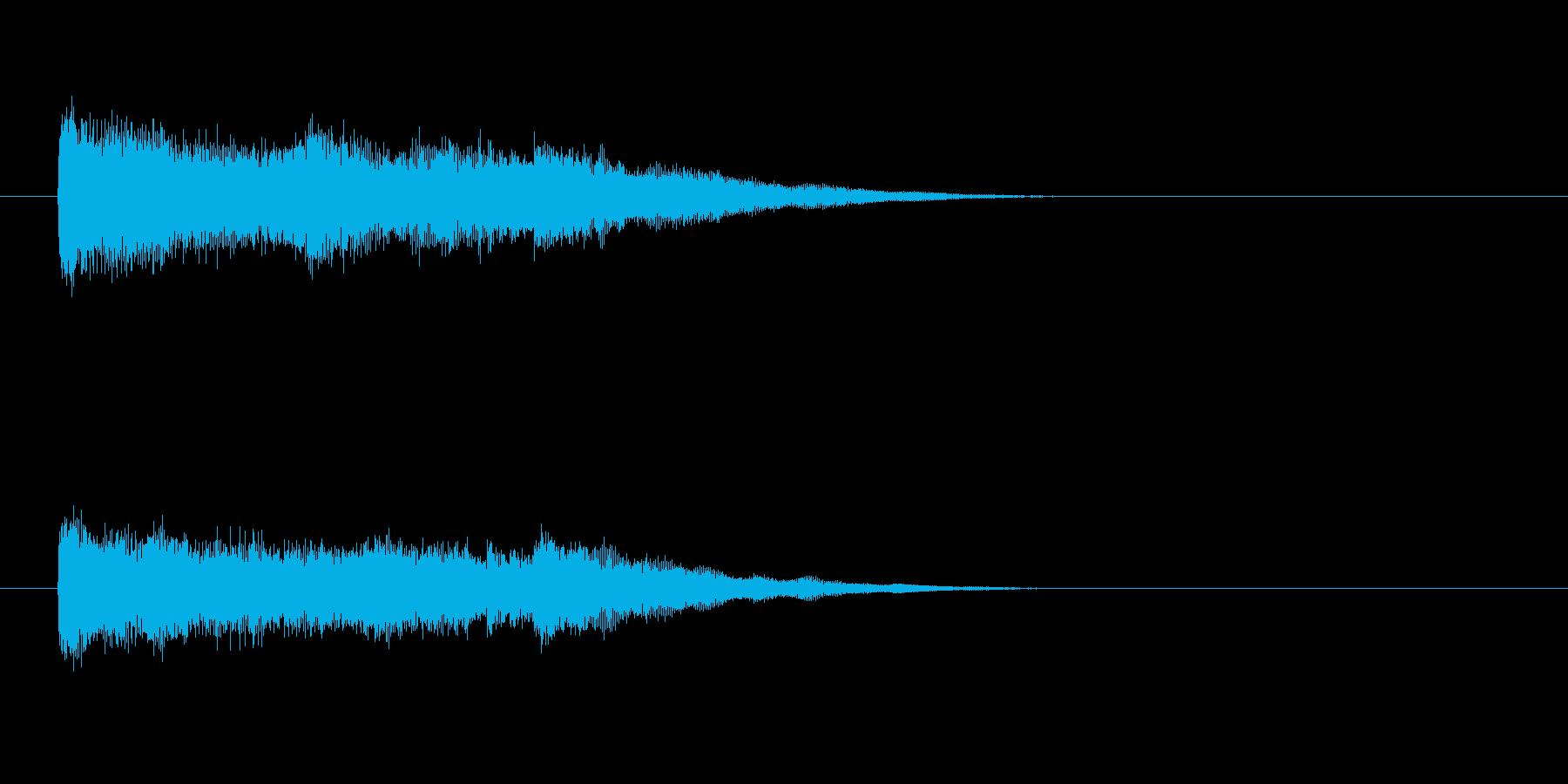 ジングル(ミステリー・タッチ)の再生済みの波形