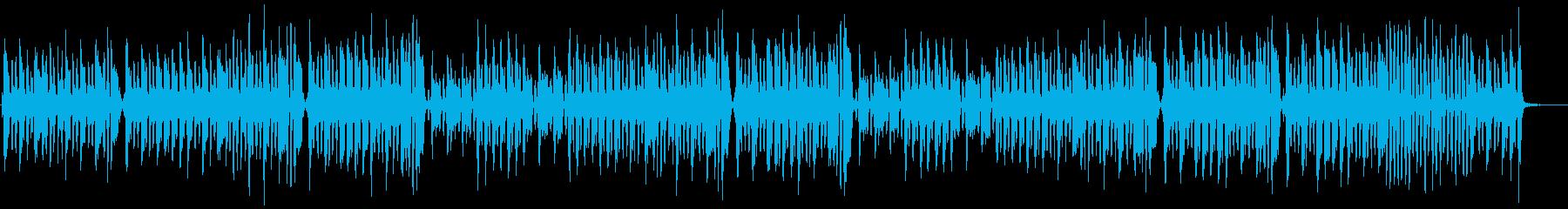 ゆるくて可愛い『トルコ行進曲』の再生済みの波形