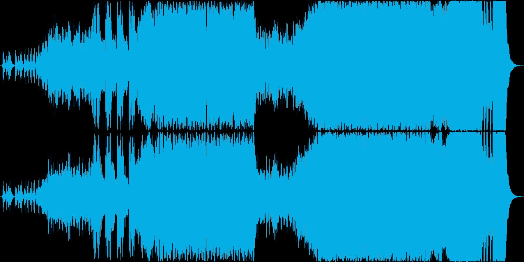 オッフェンバッハの天国と地獄の再生済みの波形