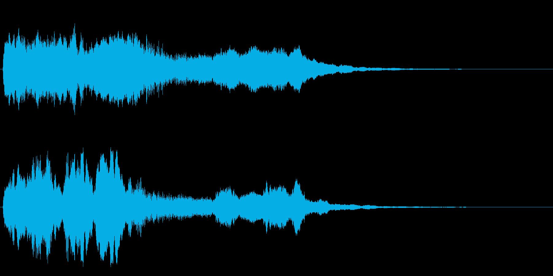 クォーア~~ン~の再生済みの波形