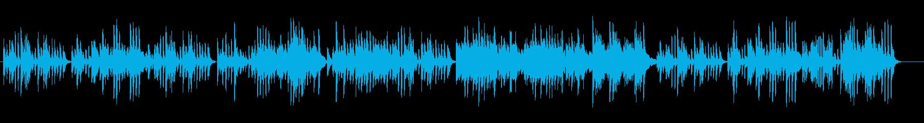 ハイドンのピアノソナタをピアノ演奏での再生済みの波形