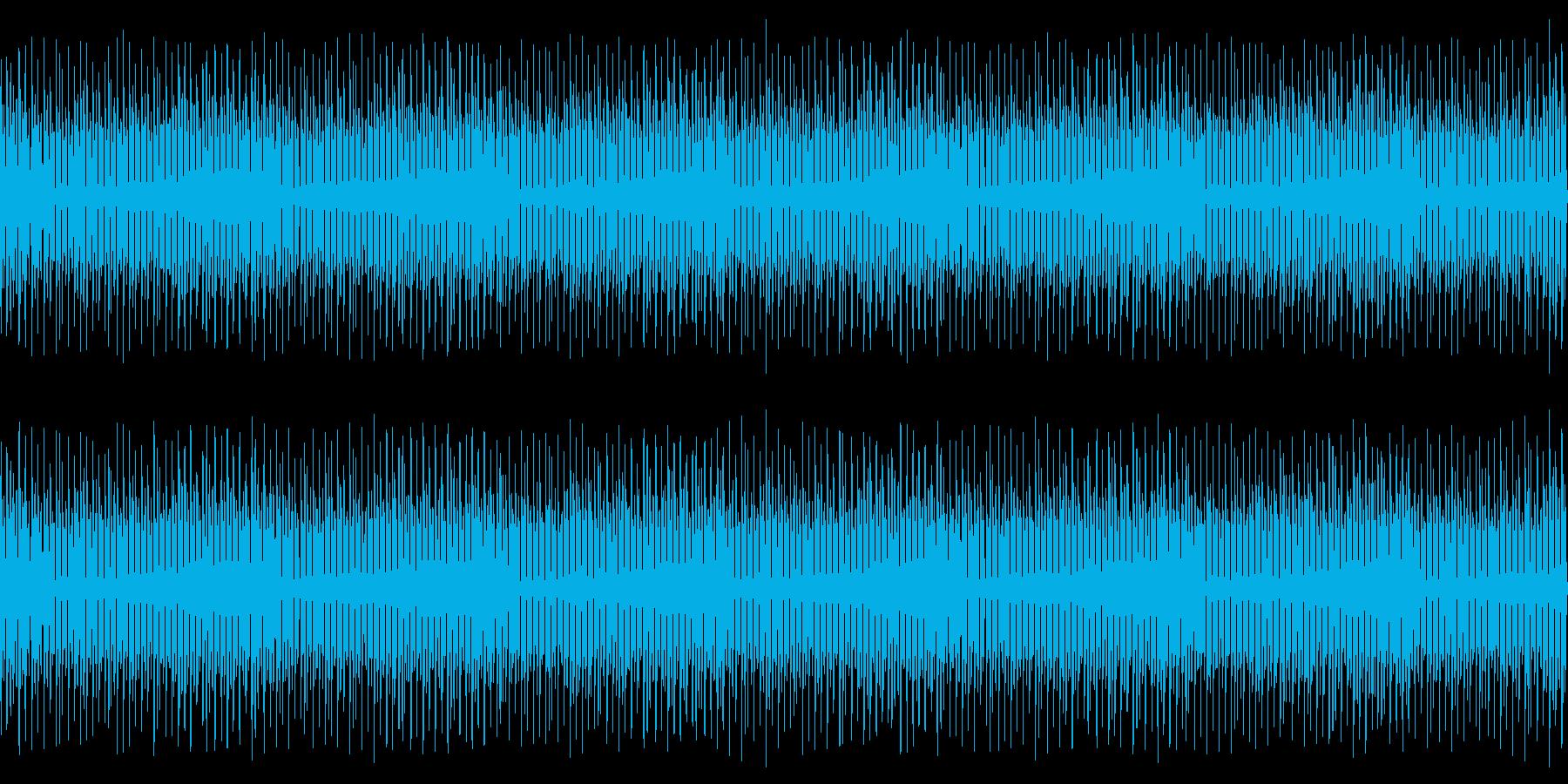 【楽しげでコミカルなポップス】の再生済みの波形