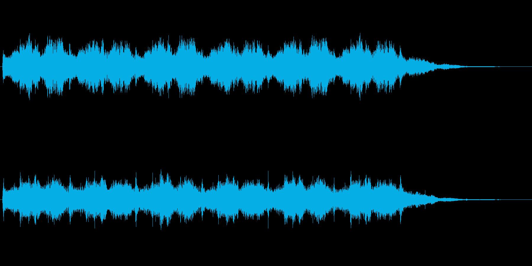 オーケストラによるループ。怪しい、不安の再生済みの波形