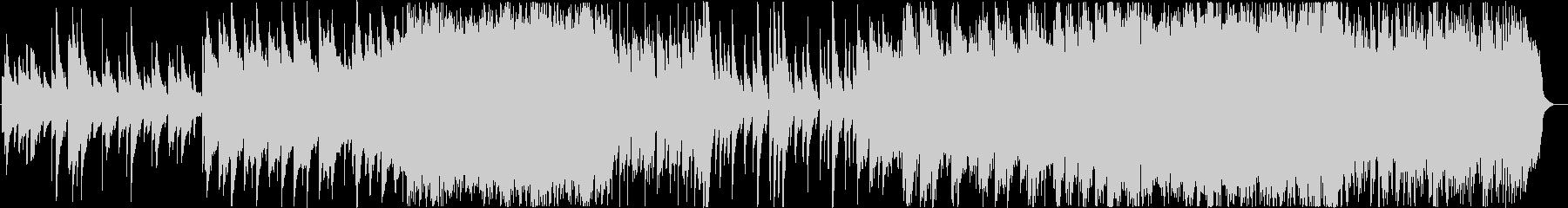 結婚式 感動 オルゴールのオーケストラの未再生の波形