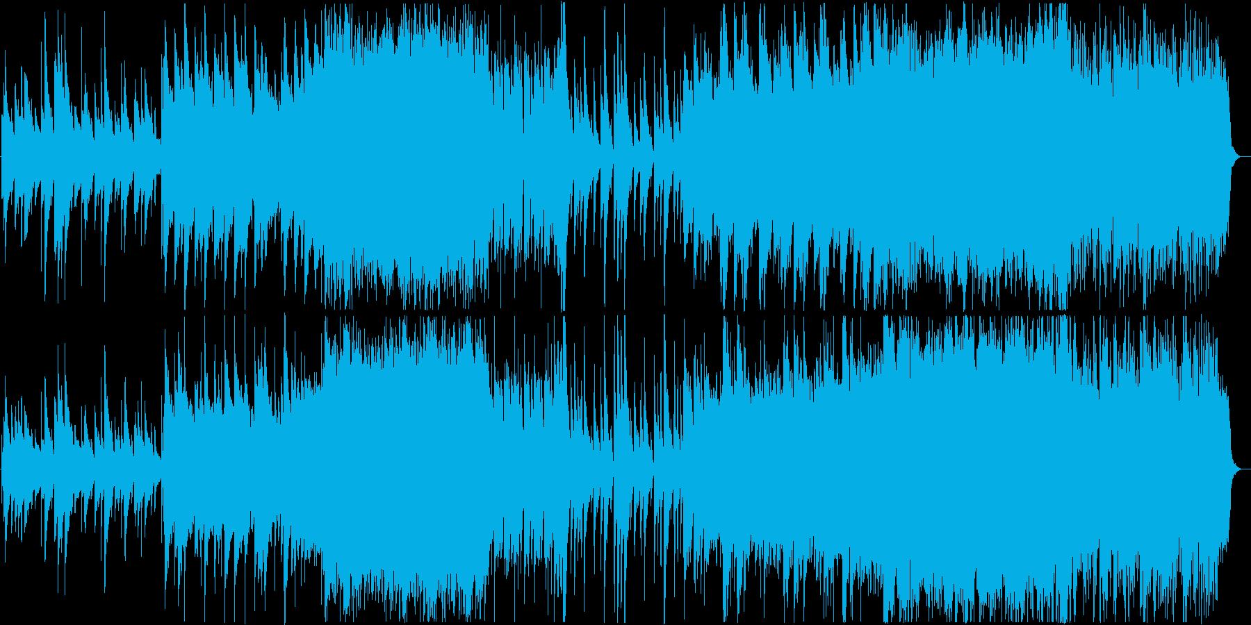結婚式 感動 オルゴールのオーケストラの再生済みの波形