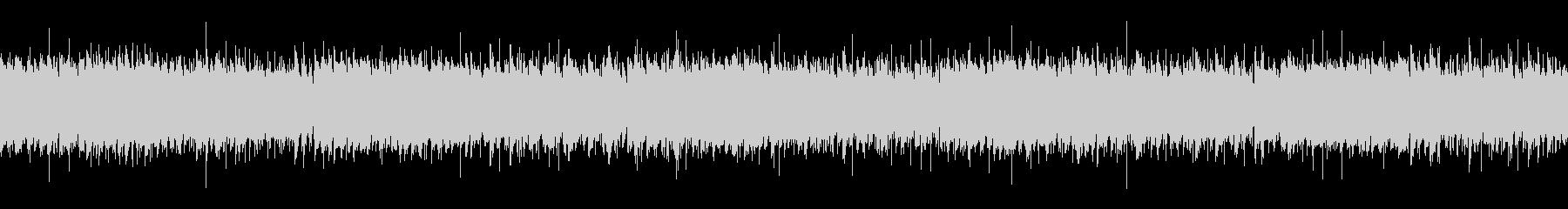 アコースティックギターのアルペジオの未再生の波形