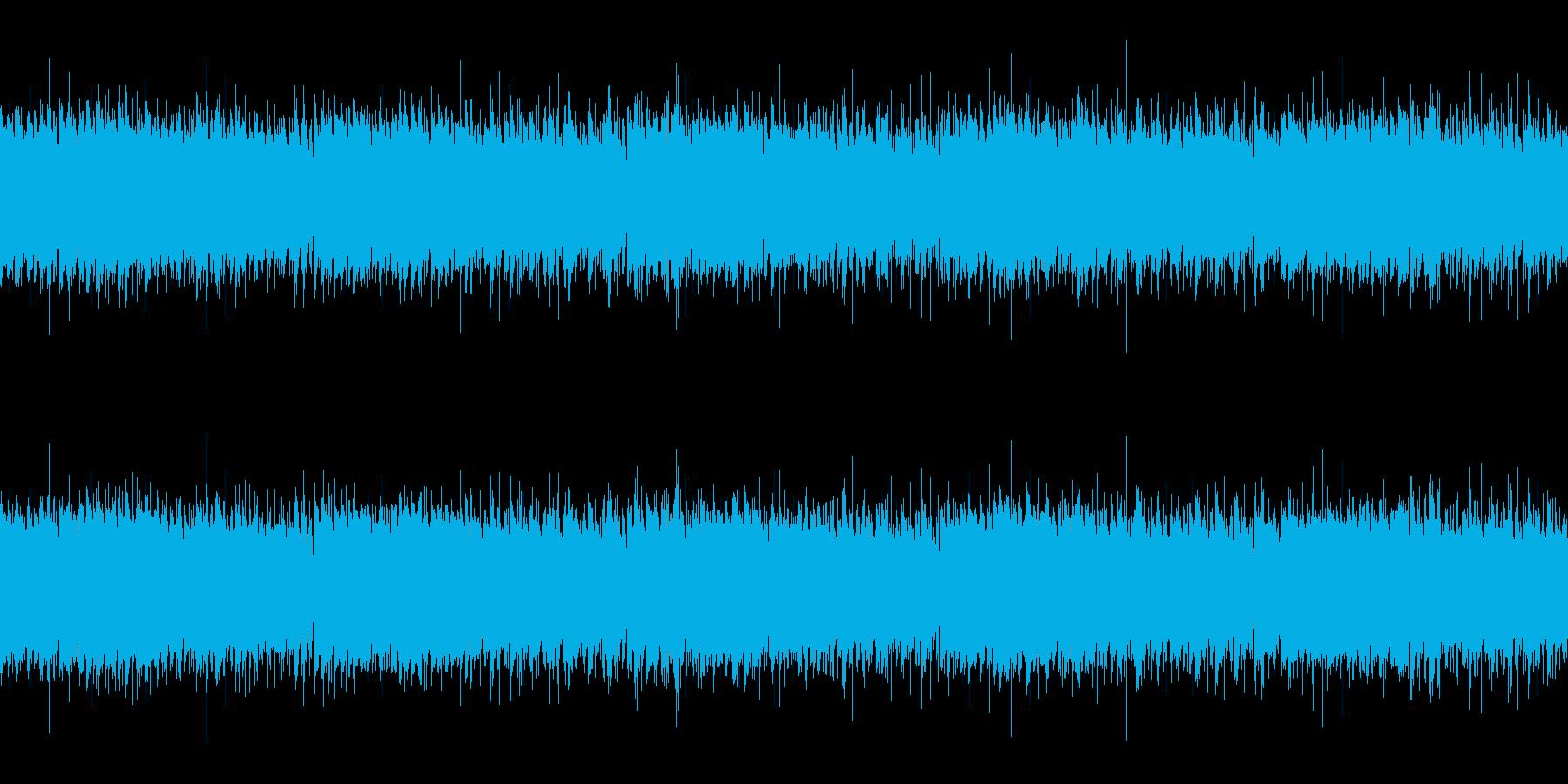 アコースティックギターのアルペジオの再生済みの波形