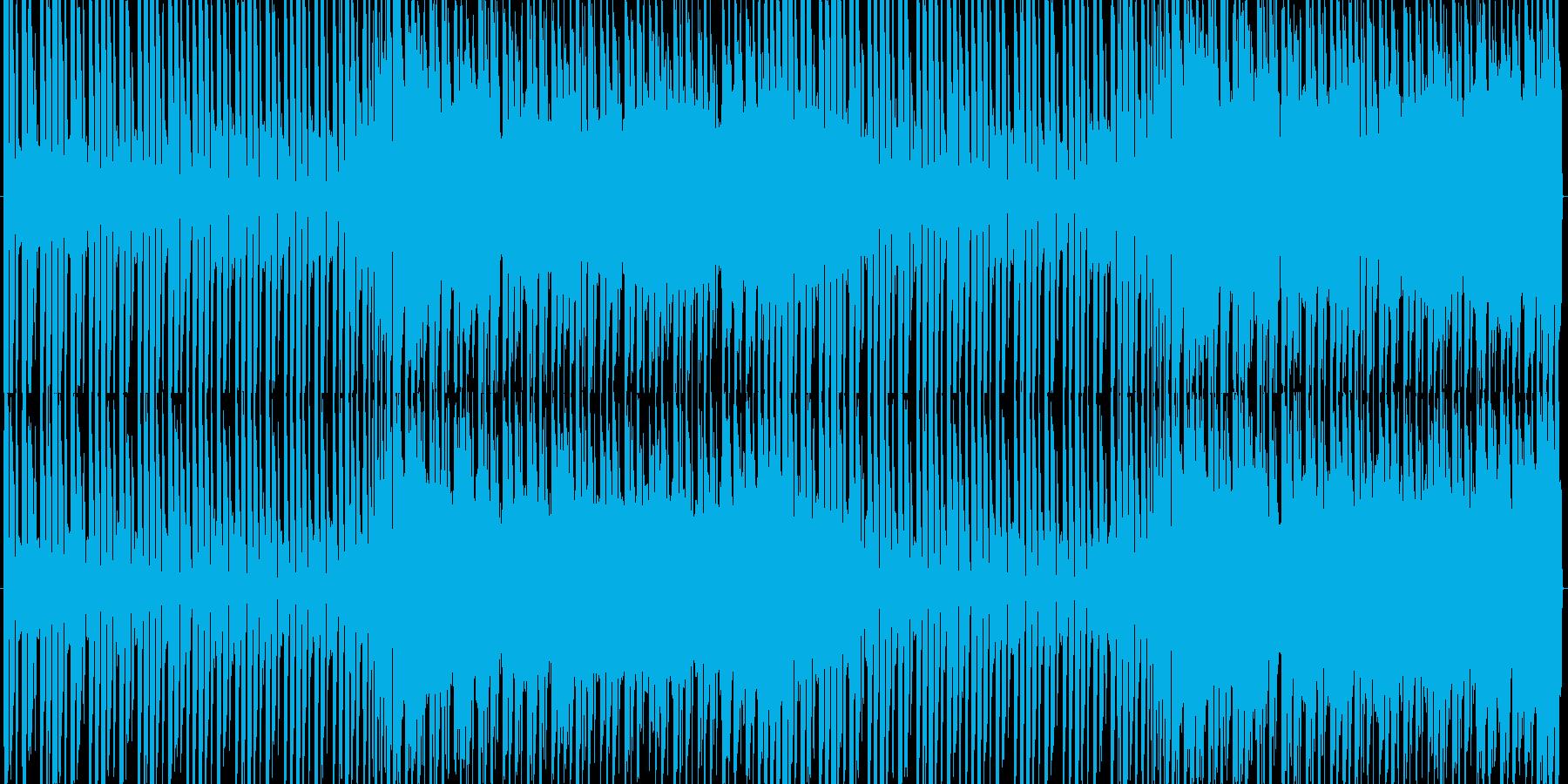 SF的でデジタル感のあるテクノトランスの再生済みの波形