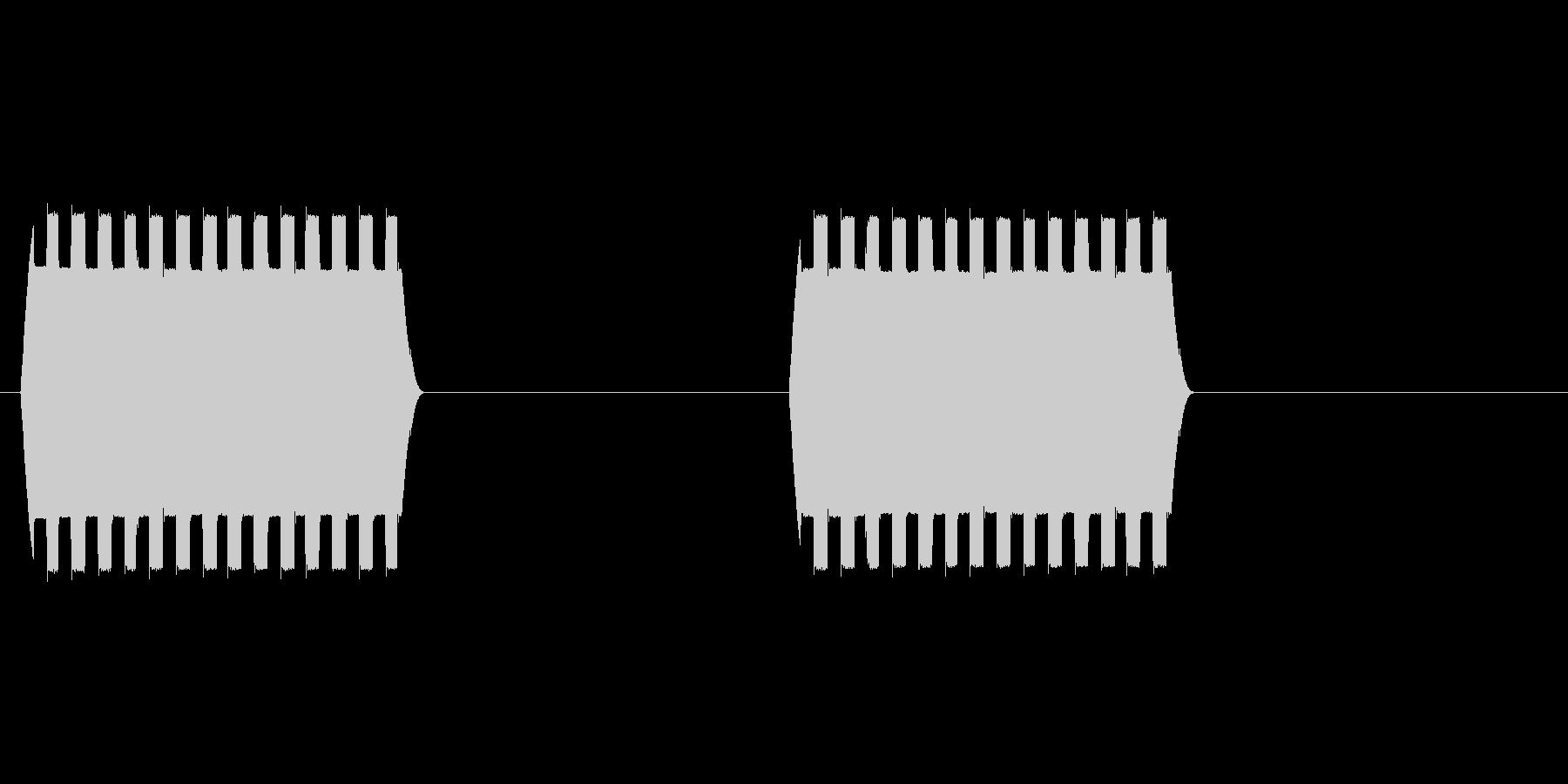 オードソックスな電話着信音です。の未再生の波形