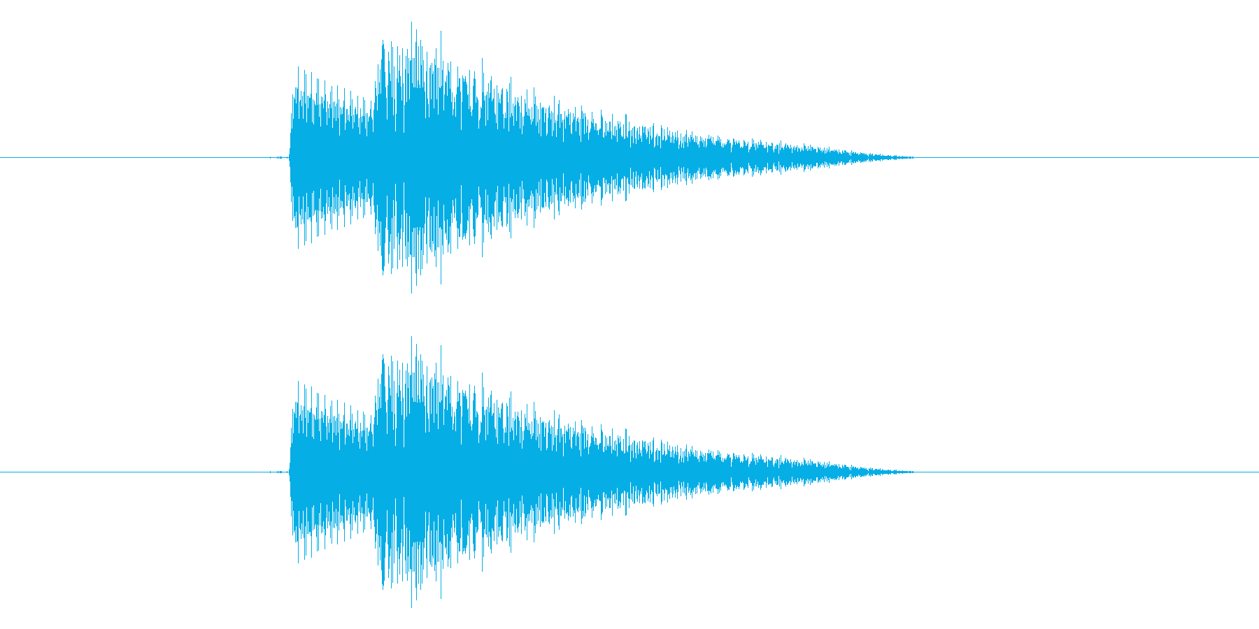 ポコの再生済みの波形