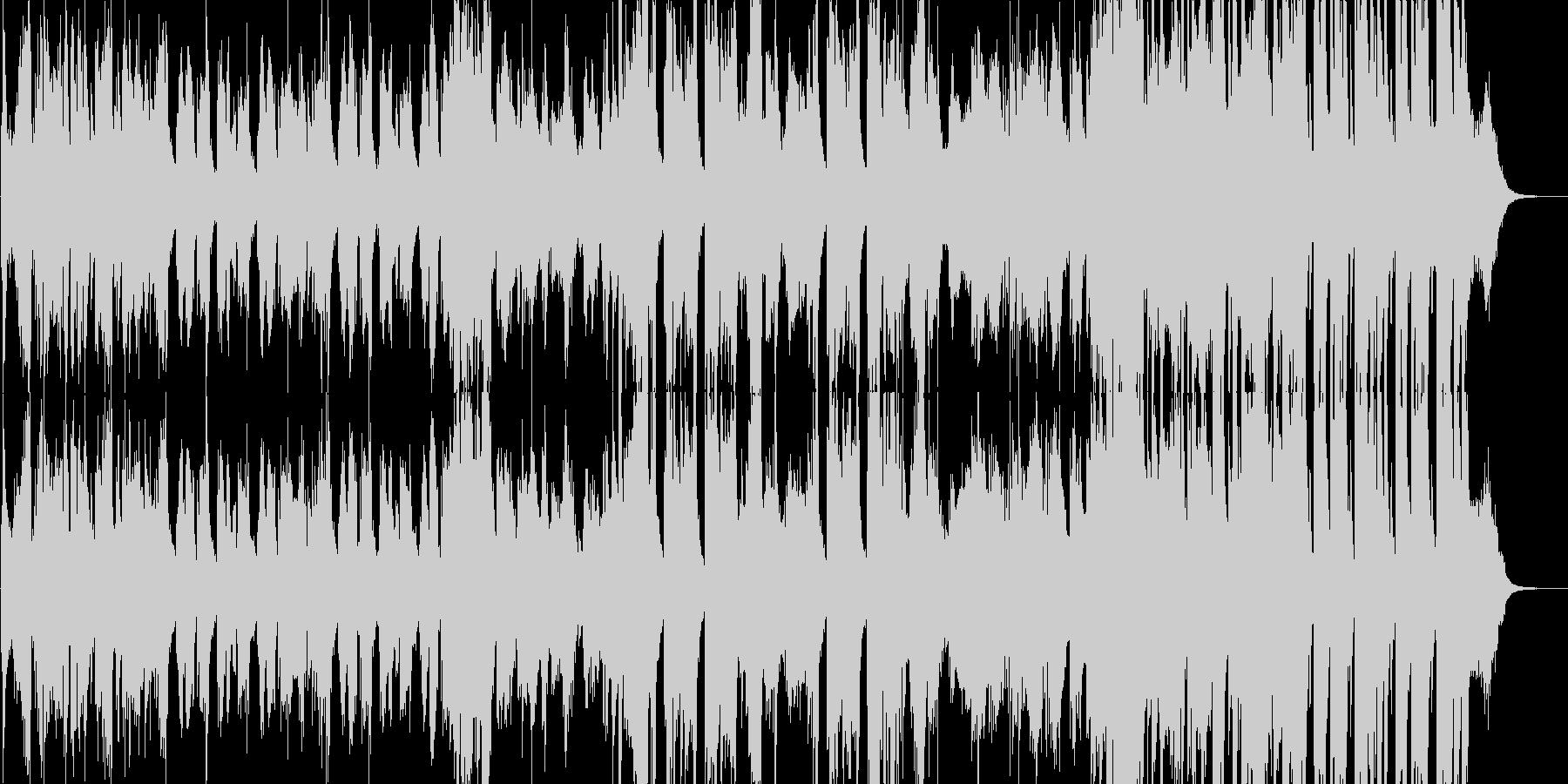 【ベース無し】ジャズ・おしゃれ・バー・…の未再生の波形