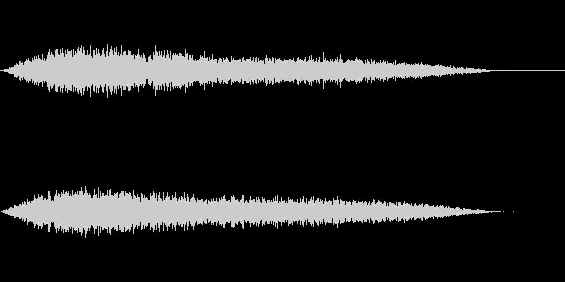 ワァーキャー!コンサートやライブ歓声20の未再生の波形