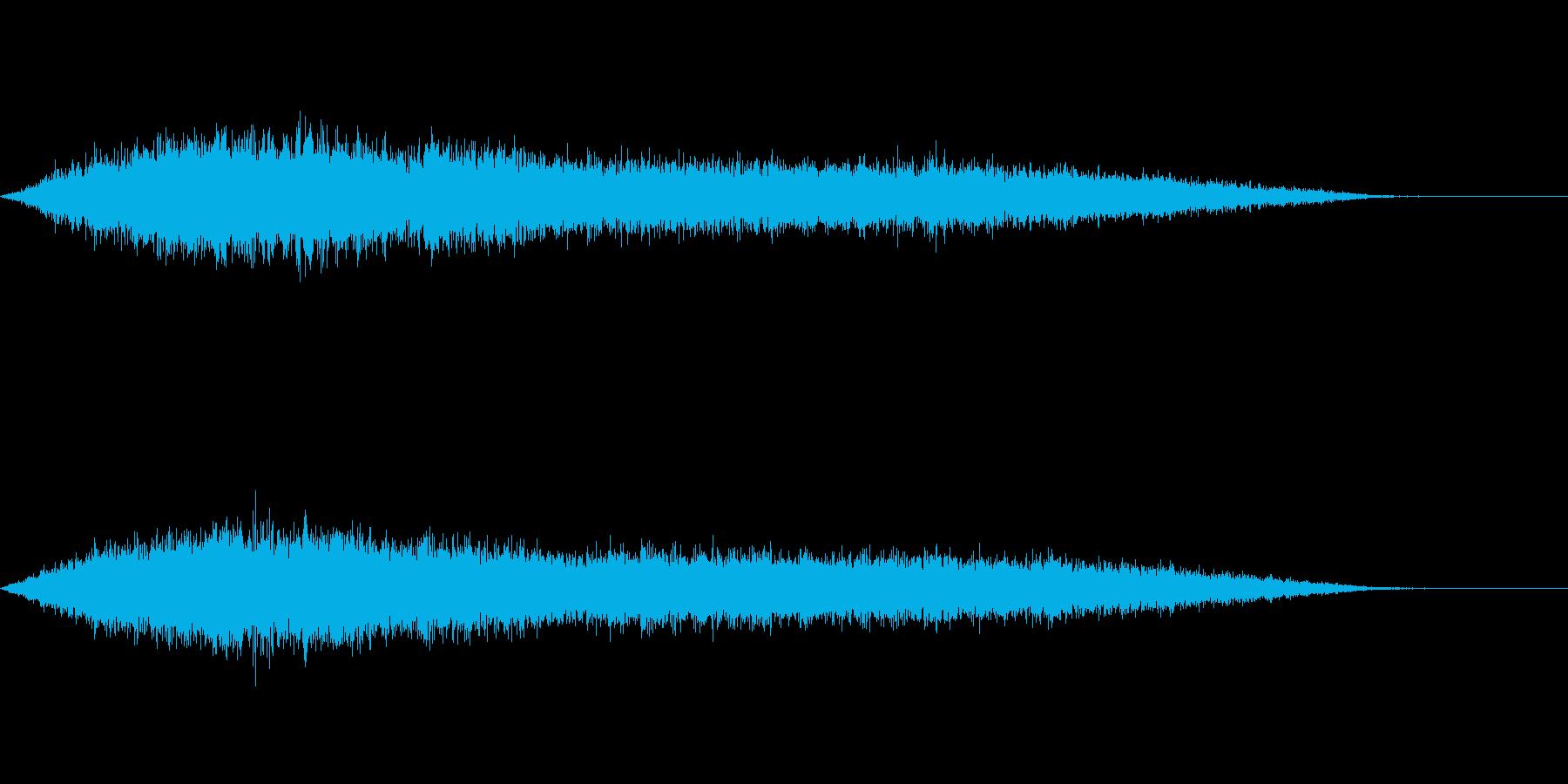 ワァーキャー!コンサートやライブ歓声20の再生済みの波形