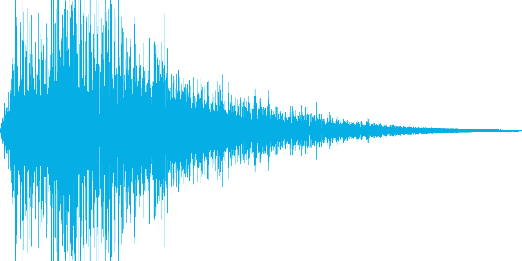 ザッの再生済みの波形