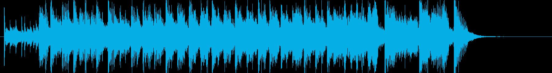 古風でラグタイム風の愉快な居酒屋風(短)の再生済みの波形