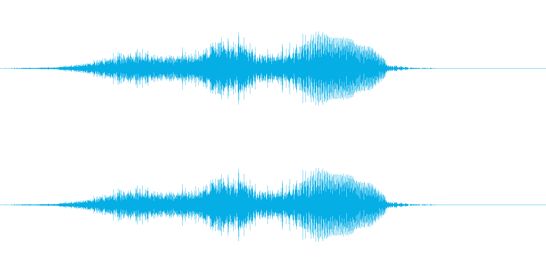 せい!! - 男性和風掛け声の再生済みの波形