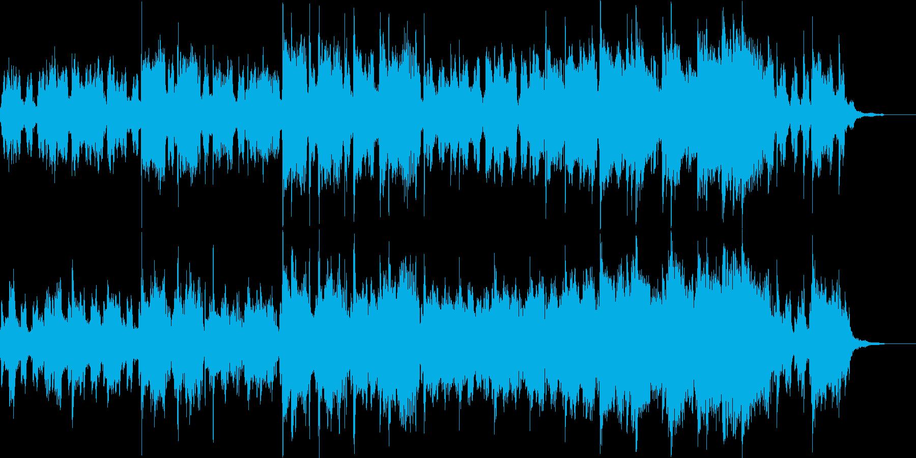 癒:凛とした神社系和風ファンタジー曲の再生済みの波形
